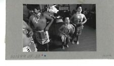 VINTAGE PHOTOGRAPH Native American Coyote Valley Pomo Dancers Children