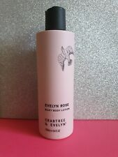 Crabtree & EvelynEvelyn Rose Silky Body Lotion 250ml New unboxed