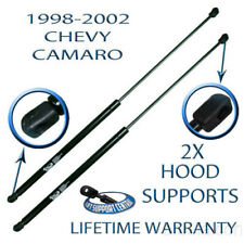 2 New Front Hood Lift Supports Shock Strut Prop Rod For 1998-2002 Chevy Camaro