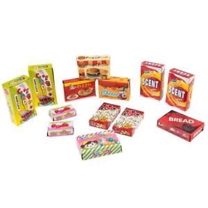 120 Piece Pretend Play Toy Food Set Plastic Kids Childrens Educational Creative