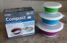 Kampa Compact Collapsible Bowl Set