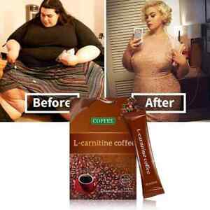 L-Carnitine Instant Coffee For Weight Loss, Slimming Coffee 1 Box  (7 Packs )