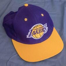 Adidas Los Angeles Lakers Basketball Baseball Hat Snapback Cap dq