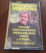 DOMENICO MODUGNO VERSION ORIGINAL - MC K7 CASSETTE TAPE CINTA MUY BUEN ESTADO