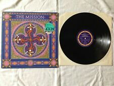 "The Mission - Severina - Aqua Marina Mix - 12"" Black Vinyl U.K  Picture Sleeve"