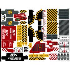Lego Technic Sticker Sheet Decals Logo Transfers 42082 Rough Terrain Crane NEW