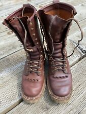 Whites Boots 7 D Hunter Brown