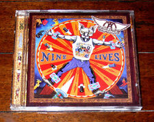 CD: Aerosmith - Nine Lives (1997, Columbia) Pink Falling In Love Taste of India