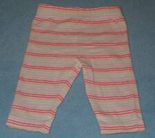 Target Baby Cute Girls Rainbow Striped Leggings/Pants, Size 0-3 Months