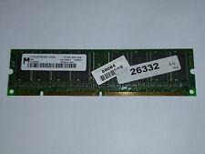64MB Micron MT8LSDT864AG-10CB4 PC100 100MHz 168-Pin SDRAM DIMM Memory RAM