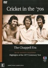 CRICKET IN THE 70'S: THE CHAPPELL ERA– DVD, 1970s, AUSTRALIAN, 70'S