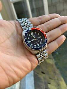 *DISCOUNT* Seiko SKX009 K pepsi divers watch good condition, fully tested