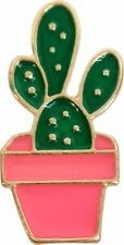 47122 Potted Cactus Pink Pot Desert Plant Cute Enamel Pin Badge Button Lapel