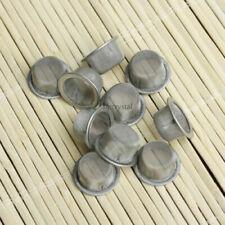 20PCS Quartz Crystal Smoking Pipes Wand Metal Filters Accessories