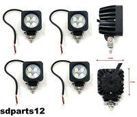 4x 4 Led Luce Faro 10W Lampada Lavoro Faretto Auto Camion Suv Moto Lkw