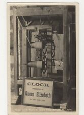 Isle of Man, The Old Clock Castle Ruhen Real Photo Postcard, B088