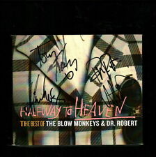 The Blow Monkeys & Dr. Robert signed autograph CD UACC AFTAL online COA