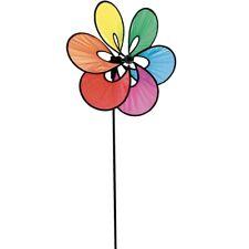 Windrad Windspiel HQ Paradise Flower Rainbow Blumen Garten Dekoration
