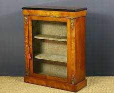 Walnut Victorian Antique Cabinets
