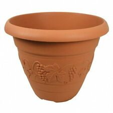 60 cm TERACOTTA Vineyard FIORIERA VASO PIANTE, GIARDINO, FIORI, il suolo, far crescere piante,