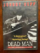 Dead Man DVD 1995 Western Cult Movie Classic w/ Johnny Depp Classic Region 1