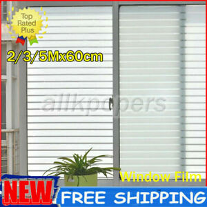 3/5m Waterproof Frosted Privacy Window Glass Film Sticker Bathroom Self Adhesive