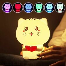 Silicone Nursery Night Light,16 Color,rechargeble, Free Shipping