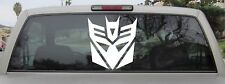 Decepticon Sticker - Transformers Decepticon Logo - Vinyl Decal - Var Szs & Clrs