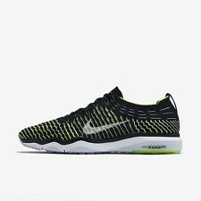 WOMENS NIKE AIR ZOOM FEARLESS FLYKNIT UK 7.5 EUR 42 (850426 002)BLACK/VOLT/WHITE
