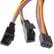 30cm ventilador PWM divisor De Cable 4 Pin Enchufe Doble Macho 4 Pines Conectores Hembra [ 006339 ]