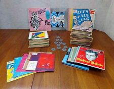 Lot of 86 Records 68 Webster Chicago Corp Adapter Inserts 5-33's 81-45's RPM Vg