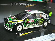 FORD FOCUS WRC RALLY GB 2010 RS #5 Wilson Stobart nightversion SUNSTAR SP 1:18