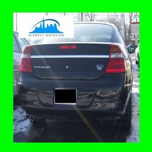1999-2004 CHRYSLER 300M PRECUT CHROME TRUNK TRIM MOLDING 5YR WARRANTY