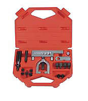 Lisle Corporation 56150 Combination Flaring Tool Kit Metric ISO Bubble Flare