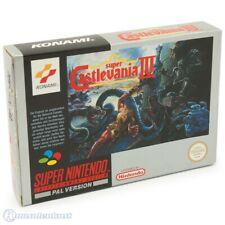 Nintendo SNES Spiel - Super Castlevania IV mit OVP sehr guter Zustand