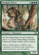 MTG: Verdant Force - Green Rare - 10th Edition - 10E - Magic Card