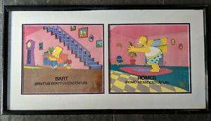 "Simpsons ""Homer Alone"" Production Cel Bart Season 5"