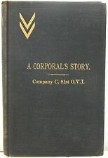 A Corporal's Story - Company C, 81st Ohio Volunteer Infantry, 1861-1864