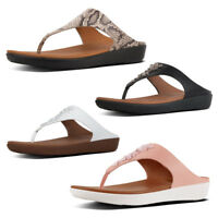 FitFlop Banda II Womens Toe Thong Leather Sandals
