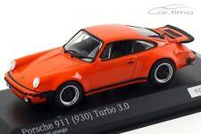 1:43 MINICHAMPS 1975 PORSCHE 911 (930) Turbo 3.0 orange 200 cartima EXCLUSIVE