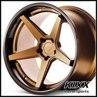 "20"" FERRADA FR3 20x9/10.5 BRONZE CONCAVE WHEELS fits CADILLAC CTS-V COUPE"