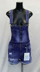 Wax Jean Women's Medium Wash Denim Short-All TM8 Blue Small NWT