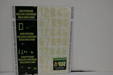 Duck Tape Glow In The Dark Numbers Sheet 105 pieces
