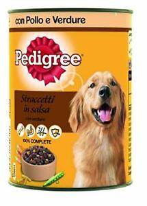 Pedigree in Sauce mit Huhn und Gemüse Dose 400 g - Hundefutter - 24 Dosen