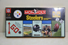 NFL Football Pittsburgh Steelers Collectors Edition Monopoly New  Sealed Box