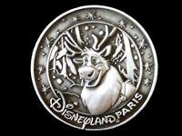 Disney Pin DLP Disneyland Paris Medallion Series - Frozen Sven #046/150