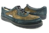 MEPHISTO brown black casual oxfords lace up dress shoes sz 9.5 womens #198