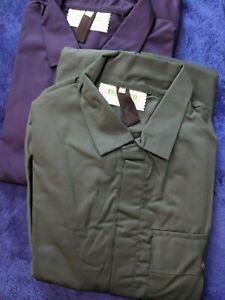 Trilanco Overalls Boiler Suit Women's British Made Polycotton Green Or Navy
