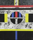 Rollie Guild, Franz Kline at Budokan, Acrylic on Canvas, signed and dated verso