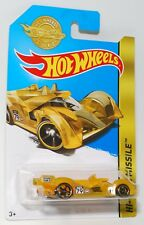 Hot Wheels HI-TECH MISSILE GOLD LIMITED EDITION SPECIAL COLLECTABLE 1:64